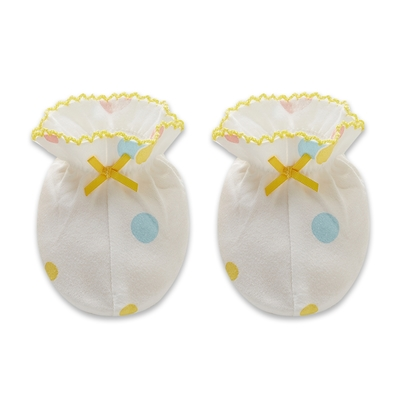 【麗嬰房】Cloudy雲柔系列 嬰兒家居小象腳套-白色