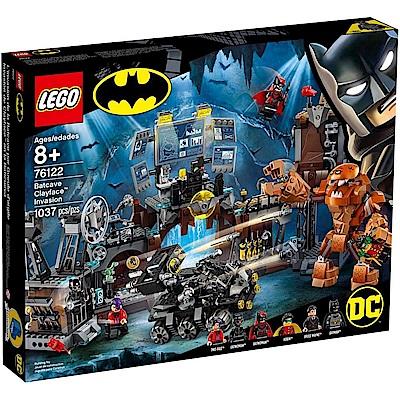 樂高LEGO 超級英雄系列 - LT76122 Batcave Clayface Inva