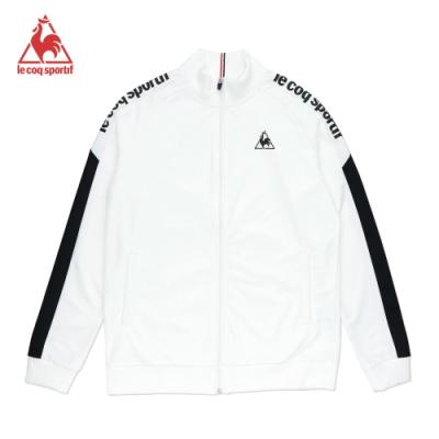 法國公雞牌立領外套 LOM6160190-男-白