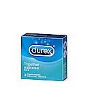 Durex杜蕾斯-激情型 保險套(3入)(快速到貨)