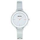 GOTO奢華簡約070系列時尚手錶-白/39mm