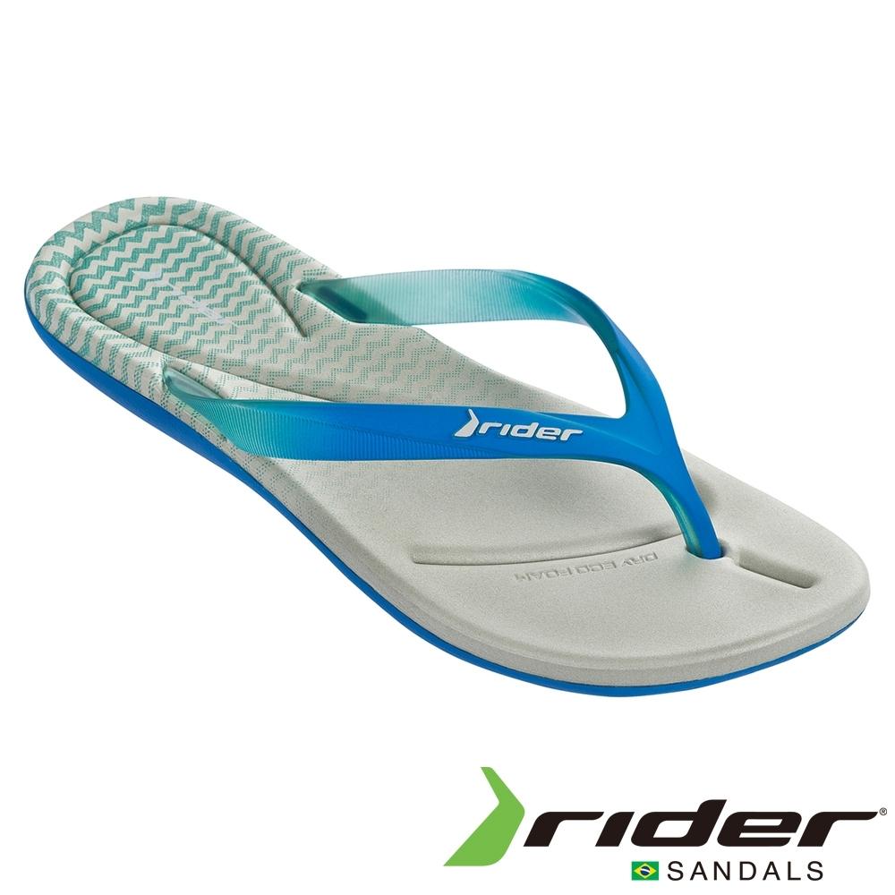 RIDER 女 SMOOTHIE III 夾腳拖鞋-藍