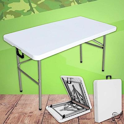 【Effect】美國熱銷戶外露營收納摺疊桌1.5米(最高耐重120KG)