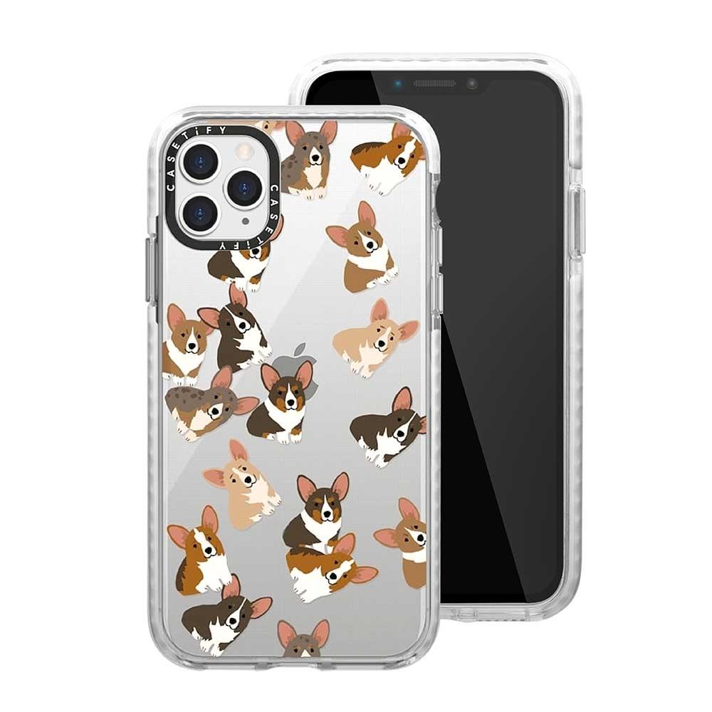 Casetify iPhone 11 Pro Max 耐衝擊保護殼-搗蛋柯基