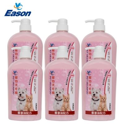 YC 寵物洗毛精1000ml 6瓶 香茅油配方 全齡犬全齡貓適用