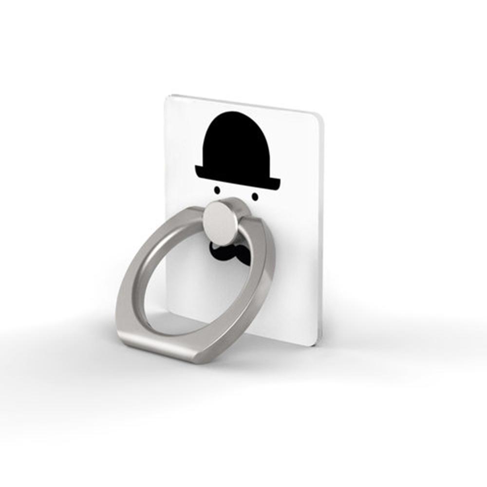 OpenBox iRing 韓流超夯隨身環-紳士特別款-帽與鬍