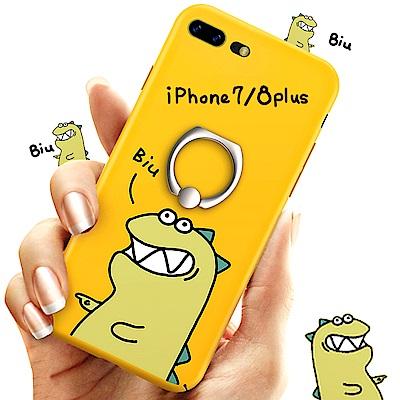 iStyle iPhone 7/8 plus 5.5 淘氣龍BiuBiu手機殼 @ Y!購物