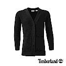 Timberland 女款黑色平紋毛衣 | B2707