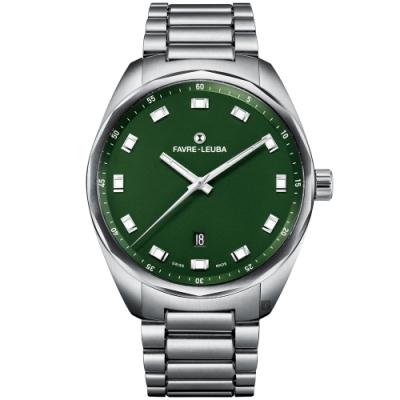 Favre-Leuba 域峰錶 SKY CHIEF DATE 紳士機械錶(00.10201.08.25.20)