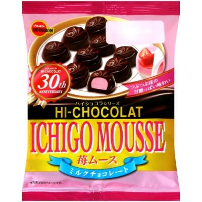 Bourbon北日本 草莓慕斯風味代可可脂巧克力(46.8g)