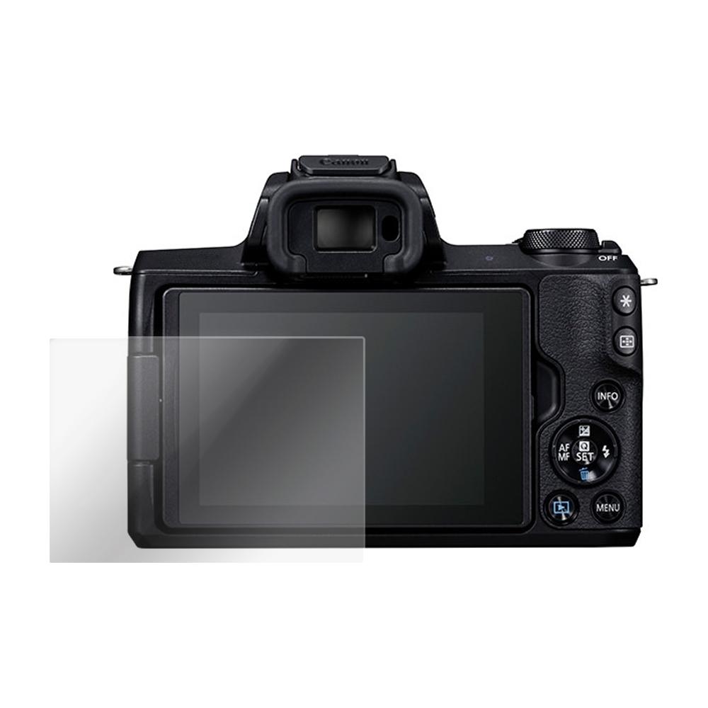 Kamera 9H 鋼化玻璃保護貼 for Canon EOS M50 / 相機保護貼 / 贈送高清保護貼