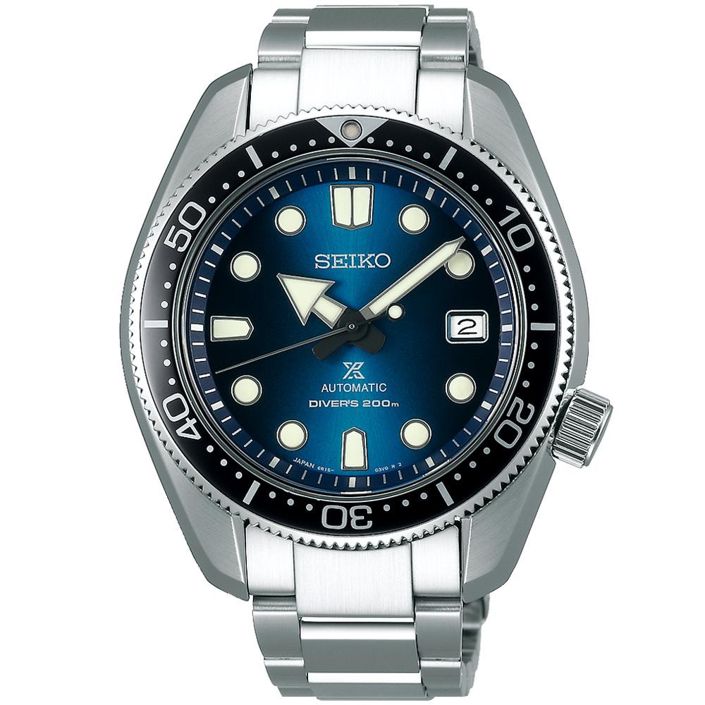 SEIKO精工 Prospex SCUBA 200米機械錶(SPB083J1)-藍/44m
