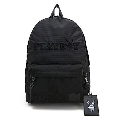 PLAYBOY- 後背包 美國兔系列-黑色