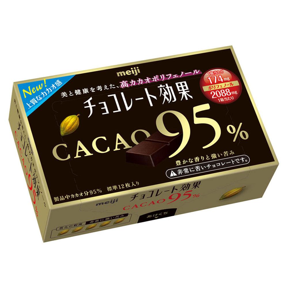 (活動)明治 95%CACAO巧克力盒裝(60g)