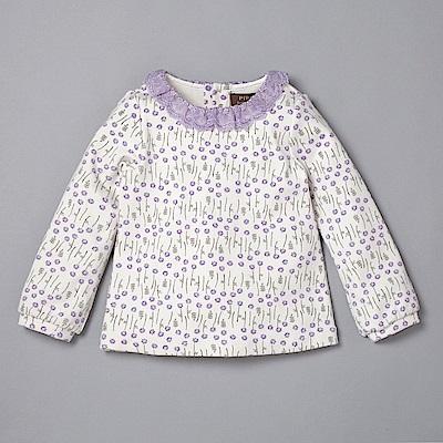 PIPPY 安妮的小花園碎花上衣 紫