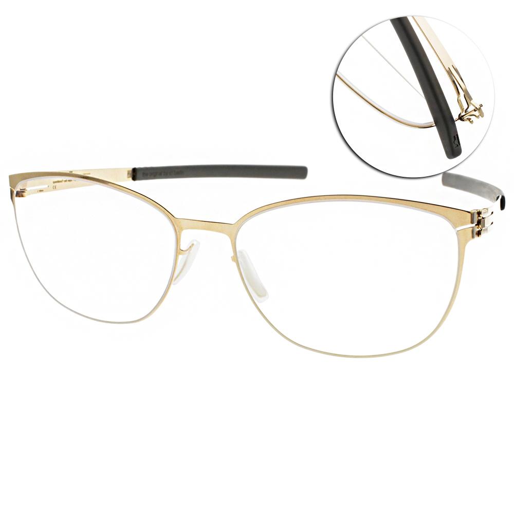 ic!berlin眼鏡 薄鋼/金#SANDY G. ROSE GOLD