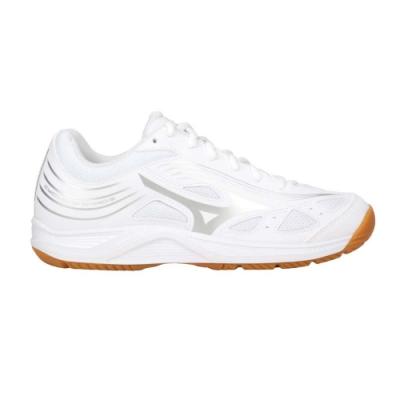 MIZUNO CYCLONE SPEED 3 女排球鞋-訓練 運動 美津濃 V1GA218003 白銀
