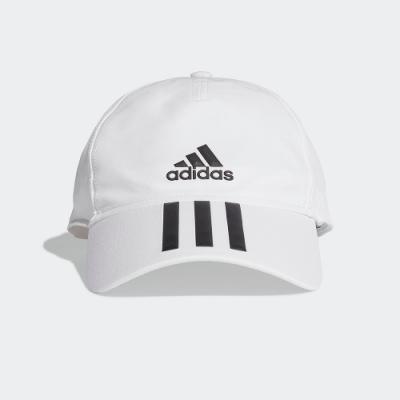 ADIDAS 休閒 運動 老帽 棒球帽 白 FK0880 AEROREADY 4ATHLTS BASEBALL CAP