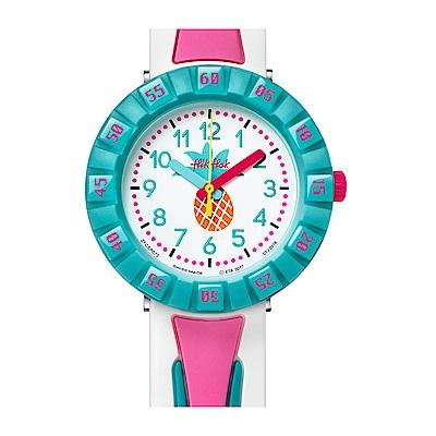 FlikFlak 兒童錶 JUICE IT UP 粉紅汽水手錶