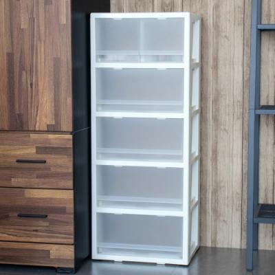 聯府五層櫃附輪抽屜櫃(1入)收納櫃R50