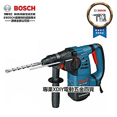 德國原裝 BOSCH 超強鎚擊力3.5焦耳/三用款免出力鎚鑽 減震把手設計