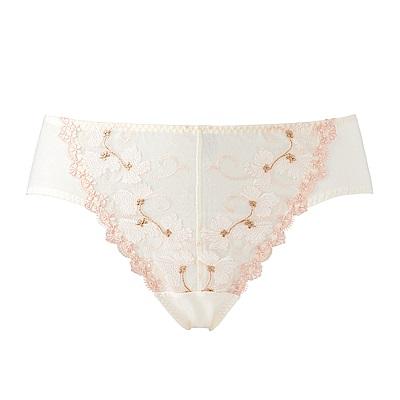 黛安芬-輕塑美型系列中腰內褲 M-EL 米白