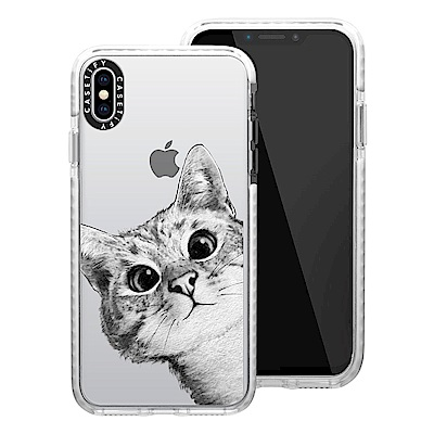 Casetify iPhone XS Max 耐衝擊保護殼-躲貓貓