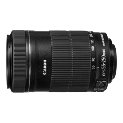 Canon EF-S 55-250mm F4-5.6 IS STM 變焦鏡頭 彩盒 (平行輸入)