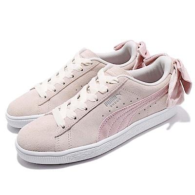 Puma 休閒鞋 Suede Bow Hexamesh 女鞋