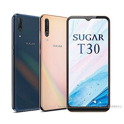 SUGAR T30 (3G/64G) 6.52吋大電量三鏡頭智慧型手機
