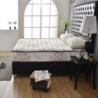 雙人5尺 奢華款超涼感抗菌-護腰型-硬式獨立筒床墊 Ally愛麗