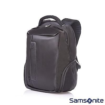 Samsonite新秀麗 Locus智慧型可調式夾層筆電後背包V14(黑)