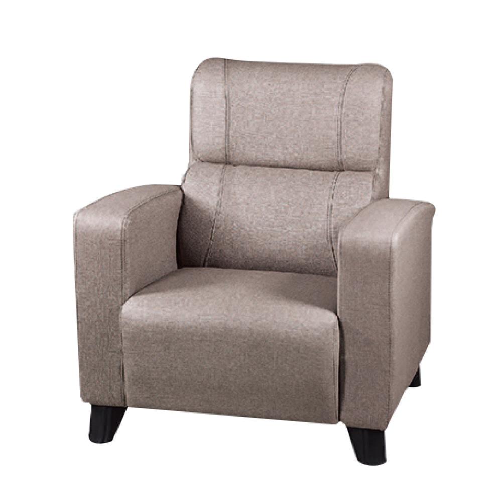 綠活居 羅莎貓抓皮革單人座沙發椅(三色)-82x76x96免組