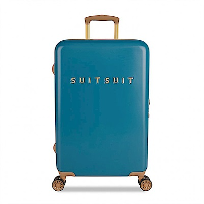 SUITSUIT Fab Seventies 復古系列 行李箱 24吋-航海藍