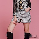 GLORY21 法式民俗織紋短褲
