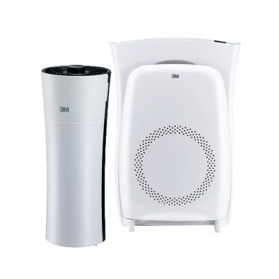 3M 淨呼吸空氣清淨機買大送小超值組(4坪淨巧型+10坪進階版) N95口罩濾淨原理