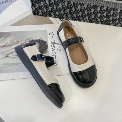 KEITH-WILL時尚鞋館-獨賣夏日娃娃鞋女低跟鞋(共1色)