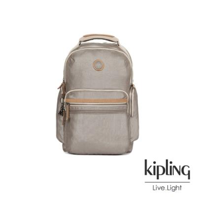 Kipling 邊緣地帶質感霧金大容量手提後背包-OSHO-EDGELAND系列
