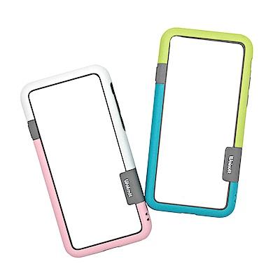 iPhone X 手機保護雙色撞色邊框