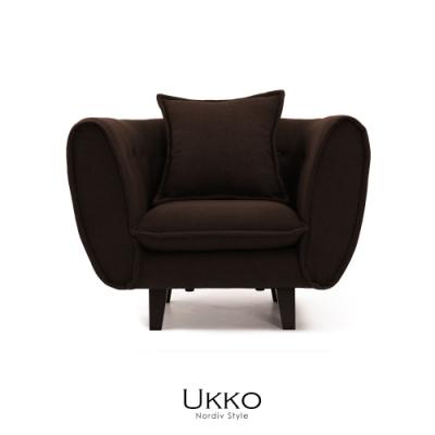 obis Ukko北歐風簡約單人沙發(二色)