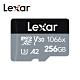 【Lexar】1066x microSDXC UHS-I記憶卡 SILVER系列 256G (附轉接卡) 臺灣公司貨 product thumbnail 1