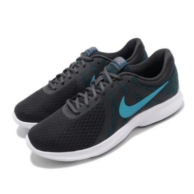 Nike 慢跑鞋 Revolution 4 運動 男鞋