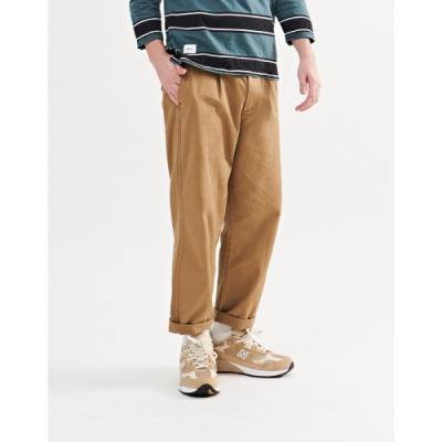 NAVY-九分西裝休閒褲(二色)-男【A1NA047】