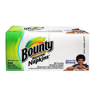 美國Bounty 特級餐巾紙(200張)