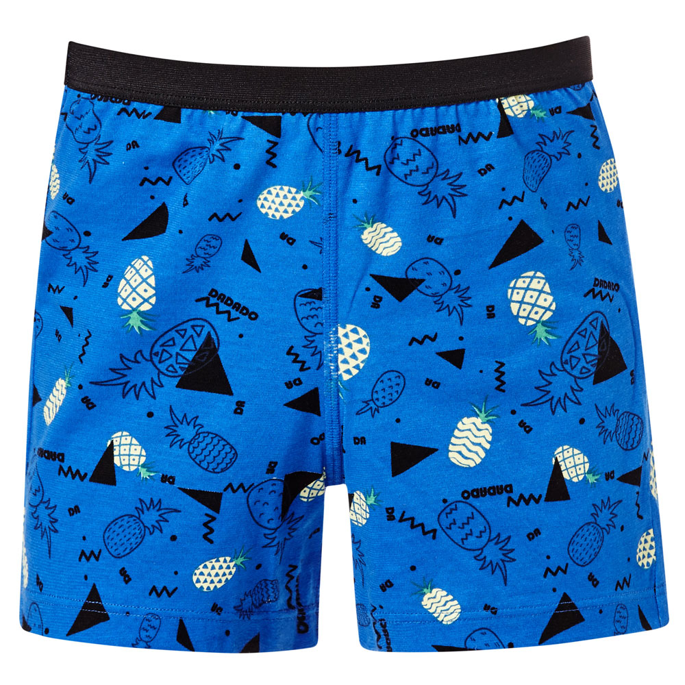 DADADO-新春旺來 110-130 男童內褲(藍)