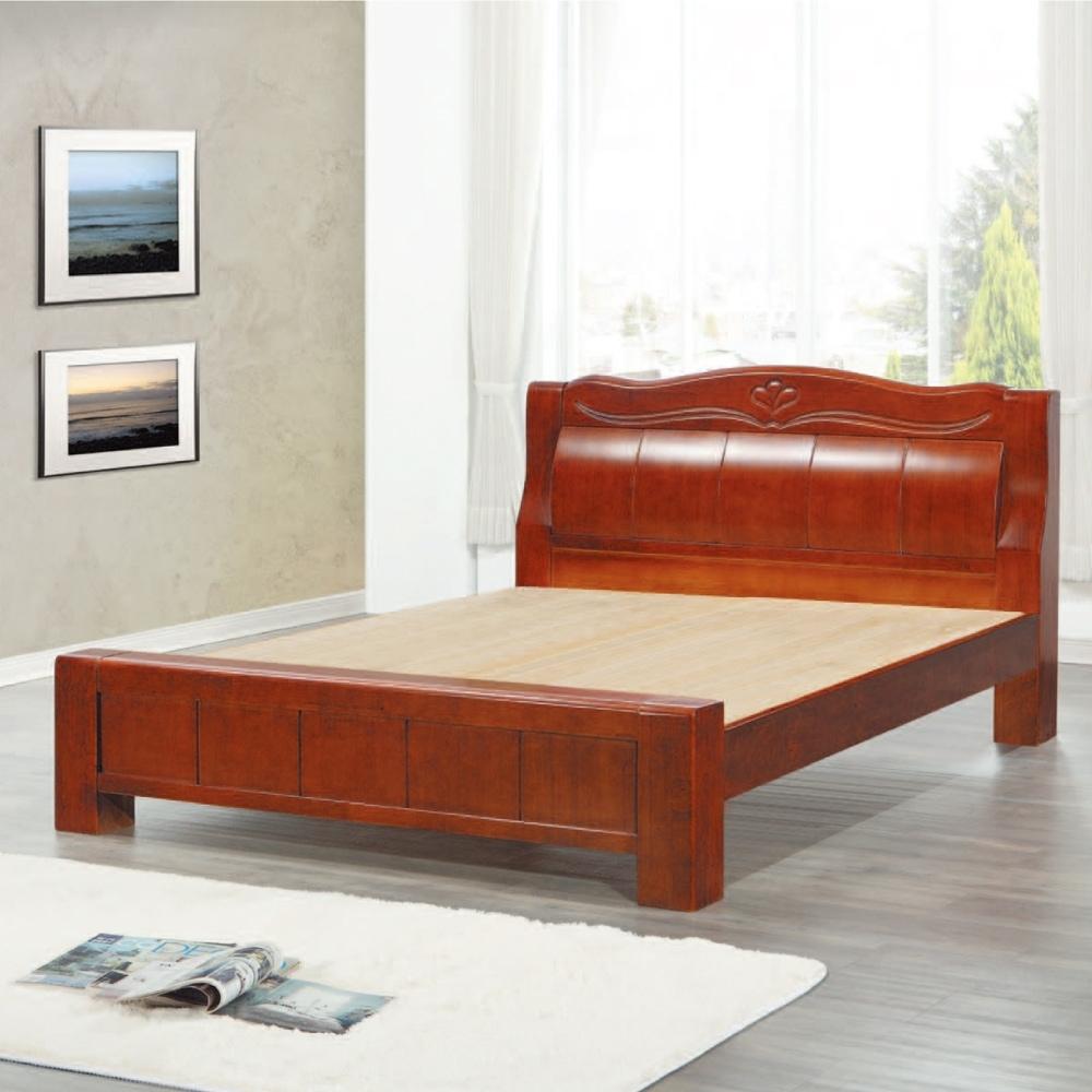 AS-凱文5尺實木床板-150x223x120cm