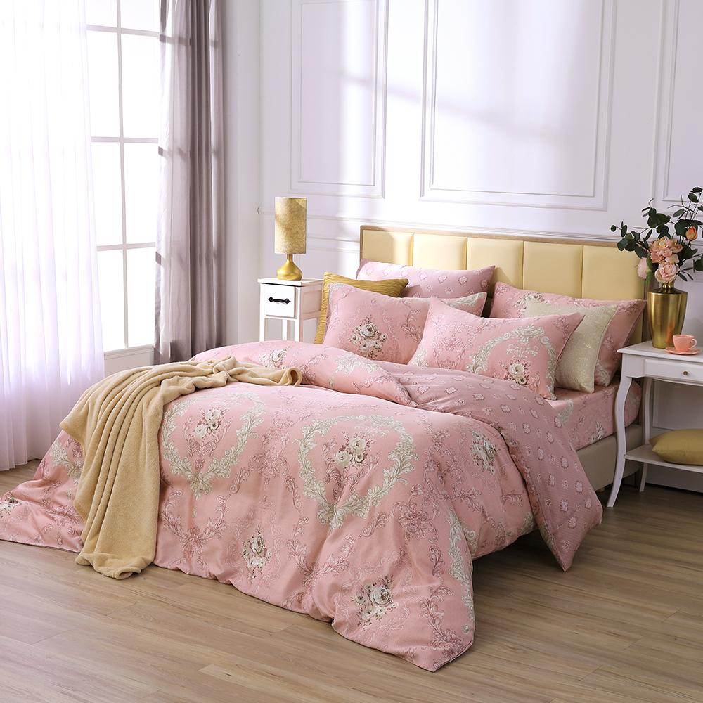 鴻宇 雙人床包兩用被套組 天絲 萊塞爾 愛麗斯戀曲 台灣製