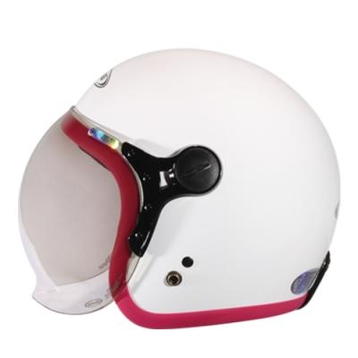 【ZEUS】382C 素色 3/4罩 騎士帽(安全帽│機車│內襯│鏡片│半罩│可拆洗內襯│開放式安全帽│GOGORO)