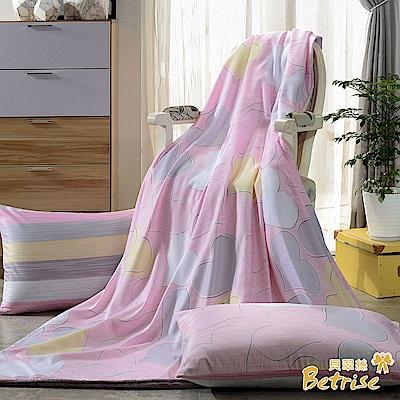 Betrise 那年花開  3M吸濕排汗天絲四季被5X6.5尺(加碼贈天絲枕套X2)