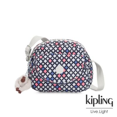 Kipling 華麗閃耀繽紛翻蓋側背小包-STELMA